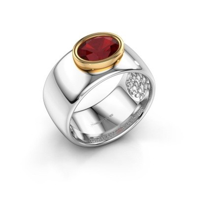 Picture of Ring Anouschka 585 white gold ruby 8x6 mm