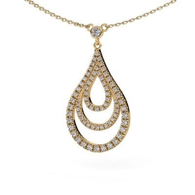 Bild von Anhänger Delpha 585 Gold Diamant 0.487 crt