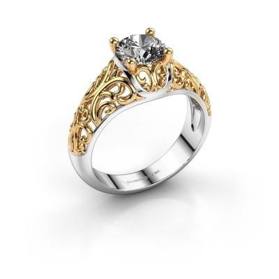 Picture of Ring Mirte 585 white gold diamond 1.00 crt