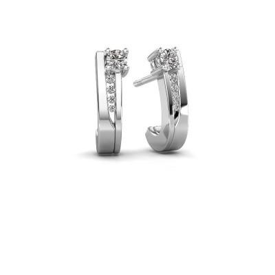 Bild von Ohrringe Jewell 950 Platin Diamant 0.218 crt