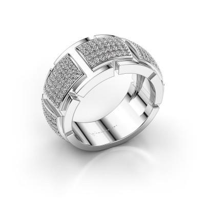 Ring Laura 585 witgoud diamant 0.825 crt
