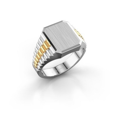 Foto van Rolex stijl ring Erik 2 585 witgoud
