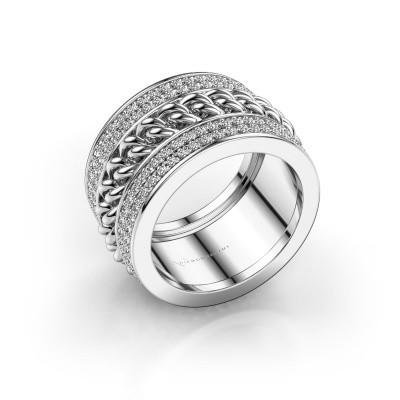 Foto van Ring Jayda 585 witgoud diamant 1.50 crt