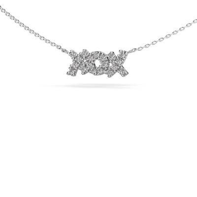 Foto van Ketting XoX 925 zilver diamant 0.285 crt