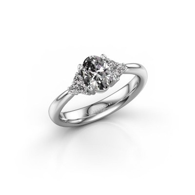 Picture of Engagement ring Aleida 1 585 white gold diamond 0.93 crt