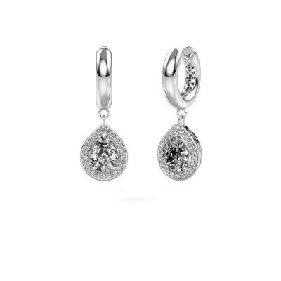 Foto van Oorhangers Barbar 1 950 platina diamant 2.065 crt