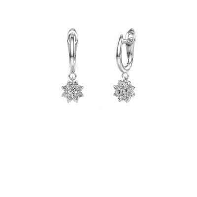 Foto van Oorhangers Camille 1 585 witgoud diamant 0.52 crt