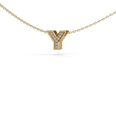 Picture of Initial pendant Initial 140 585 gold