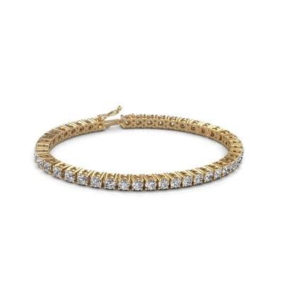 Foto van Tennisarmband Karin 585 goud diamant 10.75 crt