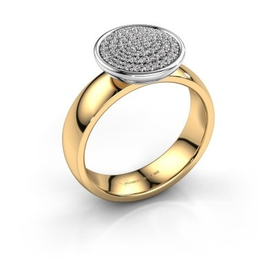 Ring Tilda 585 goud diamant 0.305 crt