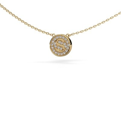 Picture of Initial pendant Initial 100 585 gold