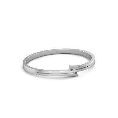 Foto van Armband Roxane 585 witgoud zwarte diamant 0.072 crt