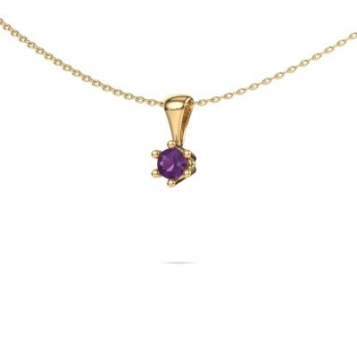Picture of Necklace Fay 375 gold amethyst 4 mm