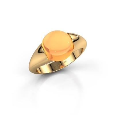 Foto van Ring Robine 585 goud citrien 10 mm