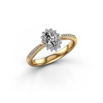 Foto van Verlovingsring Tilly 2 585 goud diamant 0.695 crt