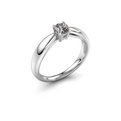 Foto van Verlovingsring Nichole 585 witgoud diamant 0.30 crt