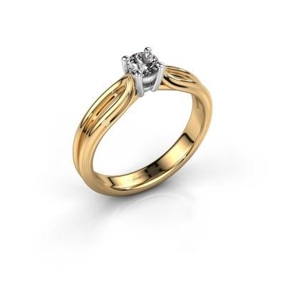 Foto van Verlovingsring Antonia 1 585 goud diamant 0.25 crt