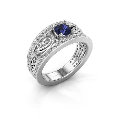 Picture of Engagement ring Julliana 585 white gold sapphire 5 mm