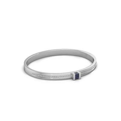 Foto van Armband Desire 585 witgoud saffier 4 mm