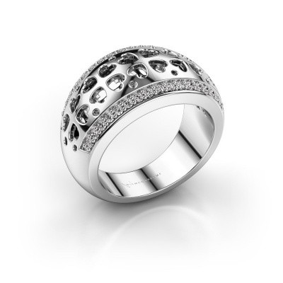 Ring Tirza 585 witgoud diamant 0.340 crt