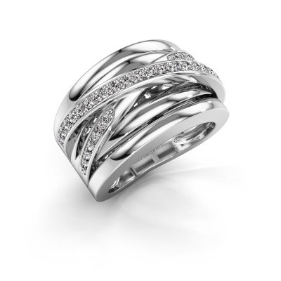 Picture of Ring Clair 3 585 white gold diamond 0.495 crt