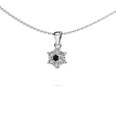 Picture of Necklace Chantal 950 platinum black diamond 0.396 crt