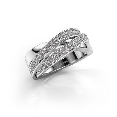 Bild von Ring Myra 585 Weissgold Diamant 0.50 crt
