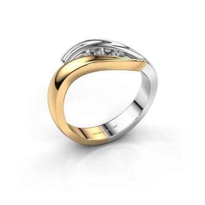 Ring Erin 585 goud diamant 0.145 crt