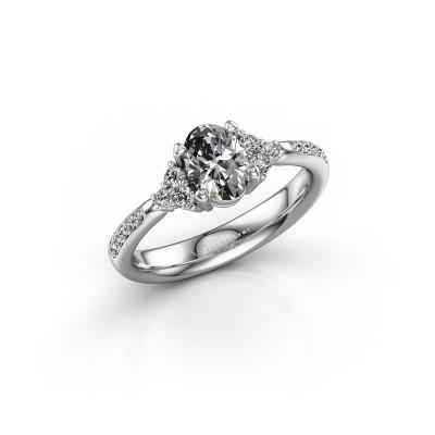 Foto van Verlovingsring Aleida 2 585 witgoud diamant 1.012 crt