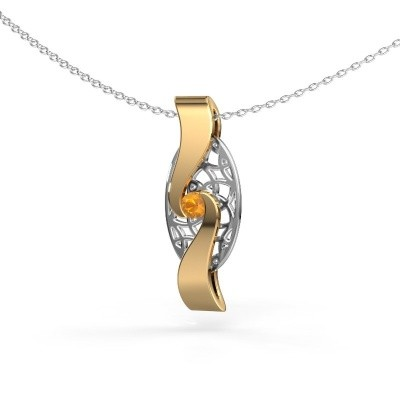 Picture of Pendant Darleen 585 gold citrin 3 mm