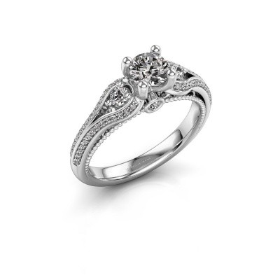Picture of Engagement ring Nikita 585 white gold diamond 0.82 crt
