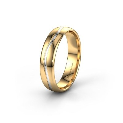 Trouwring WH0907M35X 585 goud ±5x1.5 mm