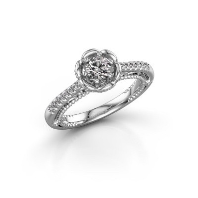 Picture of Engagement ring Abbey 585 white gold diamond 0.582 crt
