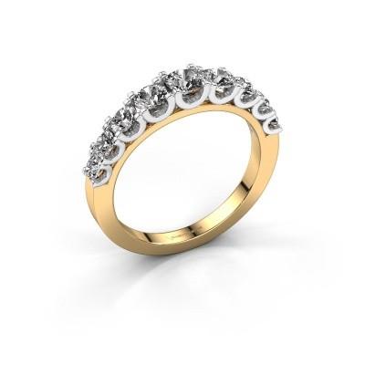 Foto van Verlovingsring Selina 4 585 goud diamant 0.97 crt