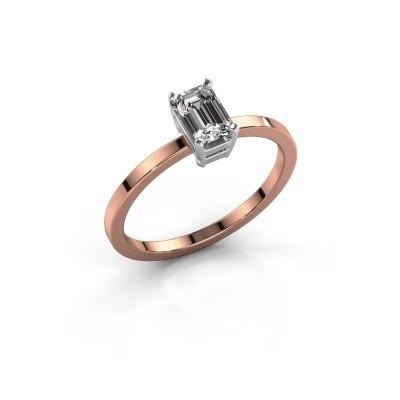 Foto van Verlovingsring Denita 1 585 rosé goud diamant 0.70 crt