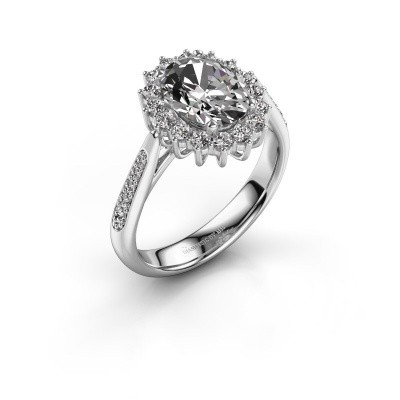 Picture of Engagement ring Margien 2 585 white gold diamond 1.209 crt