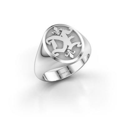 Foto van Monogram ring Xandro 950 platina