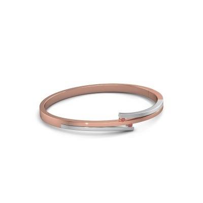 Foto van Armband Roxane 585 rosé goud robijn 2 mm