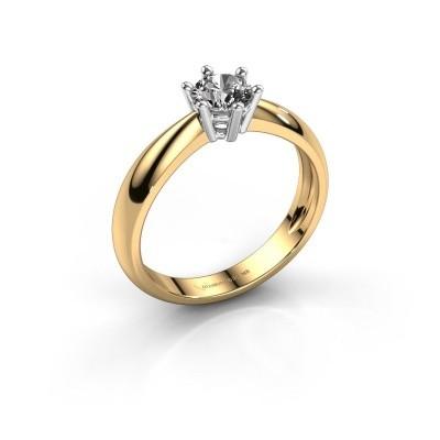 Foto van Verlovingsring Fay 585 goud diamant 0.50 crt