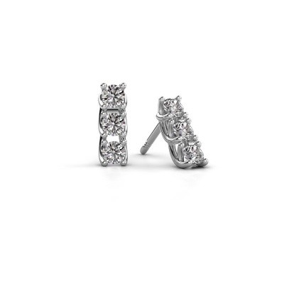 Picture of Earrings Fenna 925 silver diamond 0.60 crt