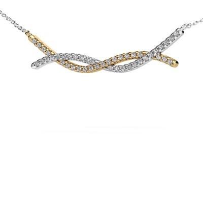 Bild von Bar Kette Breanne 585 Gold Diamant 0.338 crt