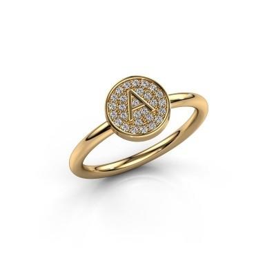 Foto van Ring Initial ring 021 585 goud
