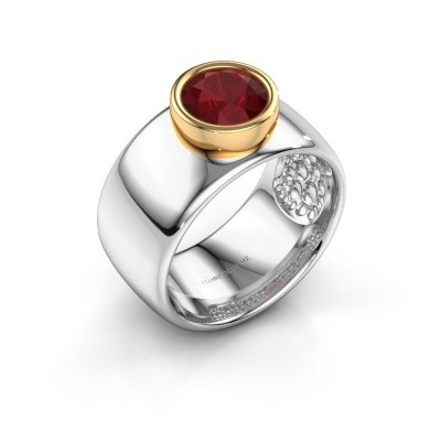 Picture of Ring Klarinda 585 white gold ruby 7 mm