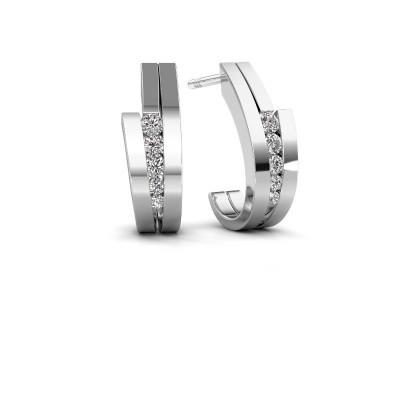 Bild von Ohrringe Cato 950 Platin Diamant 0.25 crt