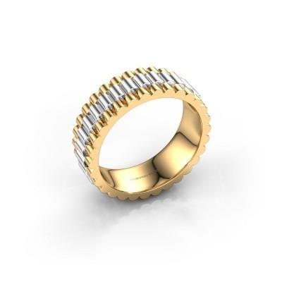 Foto van Rolex stijl ring Zenn 585 goud