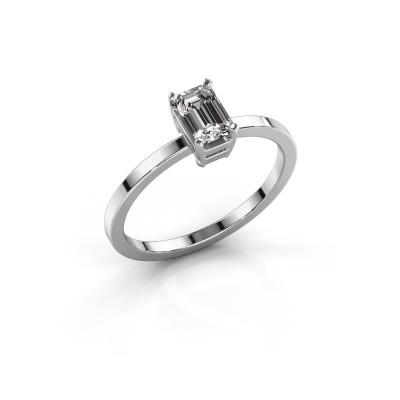 Foto van Verlovingsring Denita 1 925 zilver diamant 0.70 crt