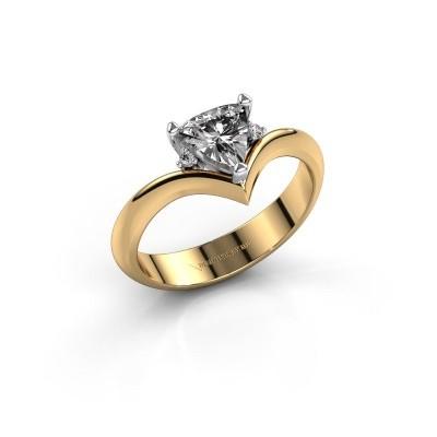 Foto van Ring Arlette 585 goud diamant 0.915 crt