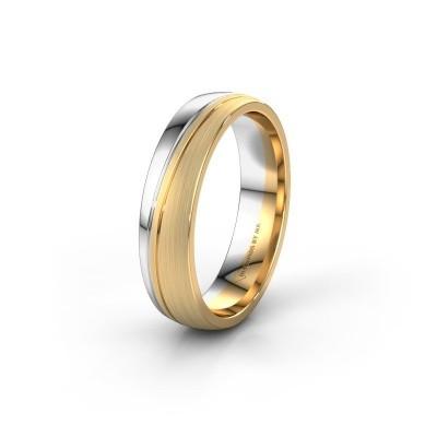 Trouwring WH0909M25X 585 goud ±5x1.5 mm
