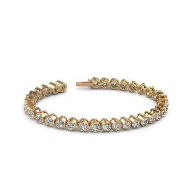 Foto van Tennisarmband Allegra 375 goud diamant 8.50 crt