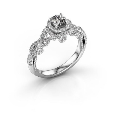 Picture of Engagement ring Leora 585 white gold diamond 0.83 crt